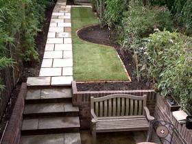Идея оформления маленького сада