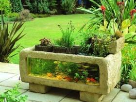 Аквариум в саду