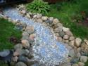Имитация воды на дачном участке