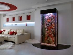 Akvarium yuqori texnologiyali ichki