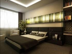 Дизайн спальні в стилі хай-тек