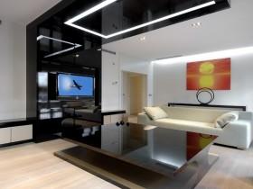 Высокотехнологичная гостиная