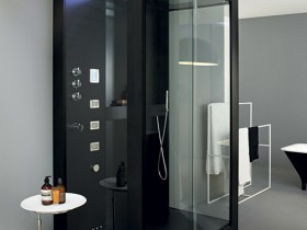 Shower Cabinet in the style of hi-tech