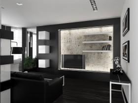 Высокотехнологичный интерьер квартиры