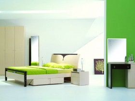 High-tech bedroom decor