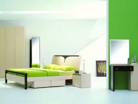 Високотехнологічний інтер'єр спальні