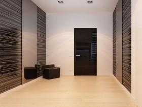 A hallway in a minimalist style