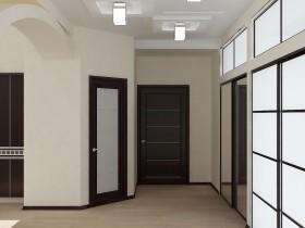 Minimalist corridor