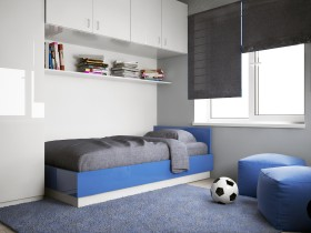 Children's room in a minimalist style
