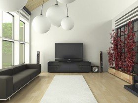 Idea living room minimalist architecture