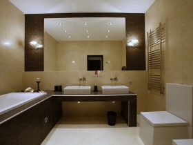 Bathroom in minimalist style