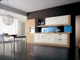 Kitchen in a minimalist style