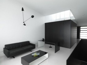 Interior minimalist living room