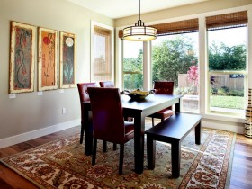 Design dining room fusion