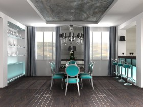 Creative dining room fusion