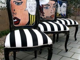 Chairs pop art