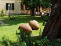 The LFA in the Italian garden
