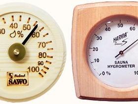 Sauna uchun Hygrometer