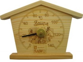 Dial thermometer for the bath