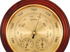 Barometer for bath