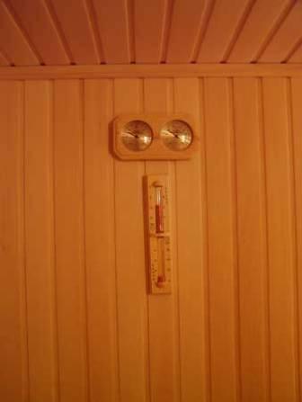 Место установки термометра в парилке