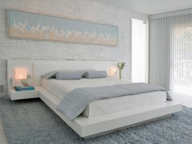The idea of the bedroom design
