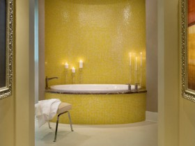 Bathroom yellow