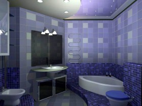 Design a small bathroom
