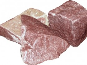 Crimson quartzite