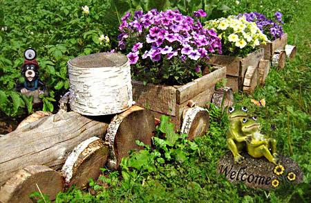 Деревенский сад своими руками