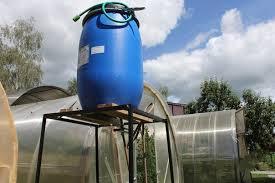 Пример как разместить резервуар для воды