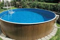 Стильный каркасный бассейн