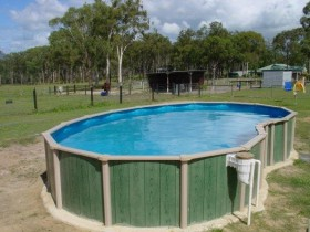 Rod frame pool