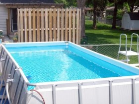 Large frame pool