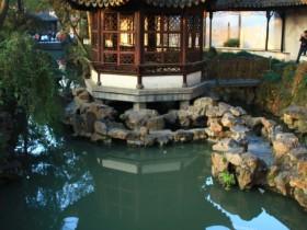 The gazebo in the Chinese garden