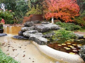 Chinese garden style in the country