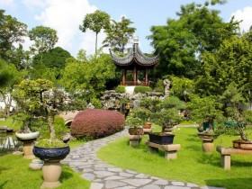 Chinese garden style