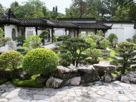 Chinese style in landscape design