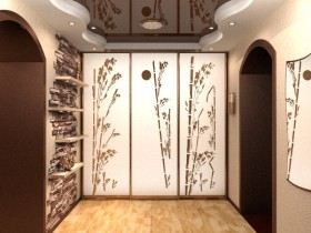 The closet design in Chinese style