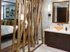 The idea of the bamboo partition
