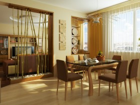 The idea of design dining room