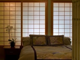Bedroom interior in the Chinese style