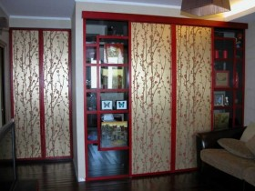 The wardrobe in the Chinese design