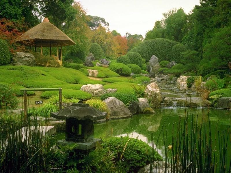 Вода, как символ жизни китайского сада