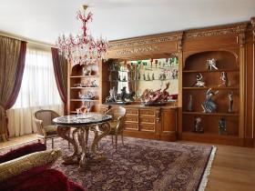 Вітальня кімната класичного стилю