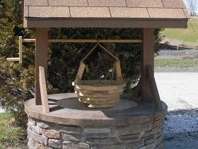 Design idea of stone well