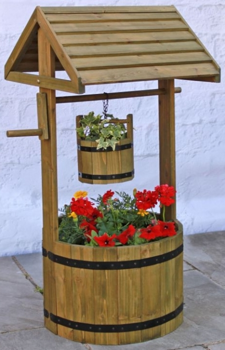 Как сделать колодец для сада
