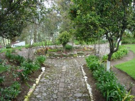 The garden in the colonial style