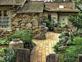 Колониальный садовый стиль