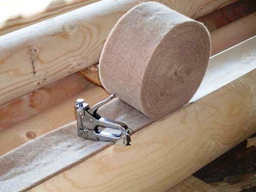 Конопатка сруба своими руками технологии материалы